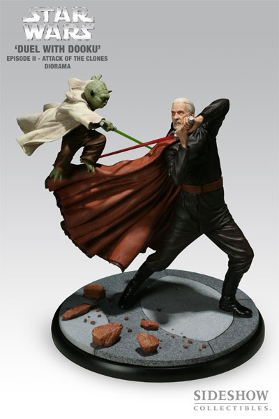 Duel with Dooku - Yoda VS Count Dooku